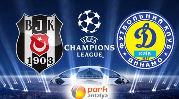 Beşiktaş Dinamo Kiev Maçı Park Antalya'da